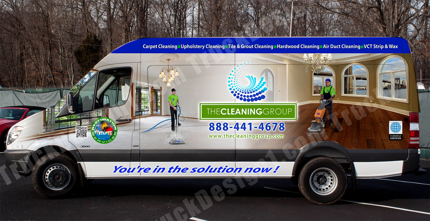 Truck Design Truck Van Car Wraps Graphic Design 3D
