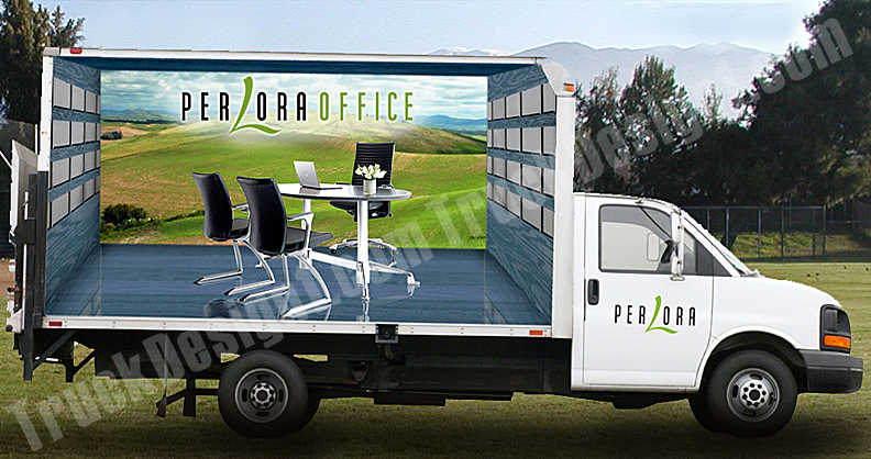 truck design truck van car wraps graphic design 3d design